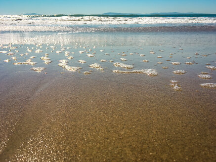 Sand and water at Ventura Beach, California, USA - SEEF00059