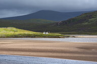 United Kingdom, Scotland, Sutherland, Durness, Kyle of Durness, low tide - ELF01962