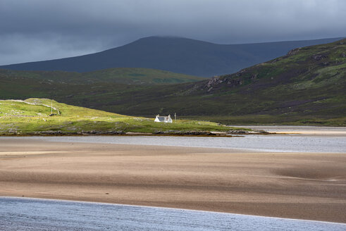 United Kingdom, Scotland, Sutherland, Durness, Kyle of Durness, low tide - ELF01962