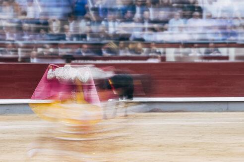 Bullfighting, torero and bull - OCMF00151