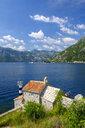 Montenegro, Bay of Kotor, near Lepetane, Lighthouse and  Gospe od Andela Church - SIEF08158