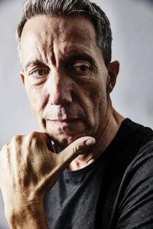 Portrait of pensive mature man - JATF01115