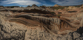High angle view of rock formations at Marble Canyon - CAVF57680