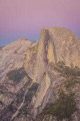 USA, California, Yosemite National Park, Glacier Point at dusk - KKAF03069