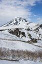 Hokkaido, Shiretoko National Park, Snowcapped mountains - RUNF00316