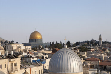 Israel, Jerusalem, Old town, Dome of the rocks - PSTF00271