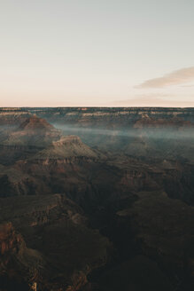 High angle scenic view of mountains against sky at Grand Canyon National Park - CAVF58041