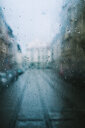 Raindrops on glass in the city - INGF08827