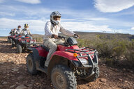 Group of people quad biking in South Africa - ZEF16065