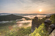 Scenic view of nature during sunset in Germany - INGF09496