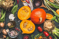 Vegetables and other healthy ingredients - INGF09601