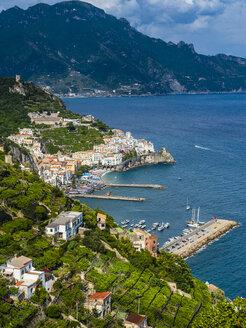 Italy, Campania, Amalfi Coast, Sorrento Peninsula, Amalfi - AMF06368