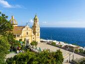 Italy, Campania, Amalfi Coast, Sorrento Peninsula, Praiano, Parrocchia Di San Gennaro Church - AMF06377