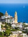 Italy, Campania, Amalfi Coast, Sorrento Peninsula, Praiano, Parrocchia Di San Gennaro Church - AMF06380
