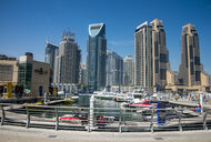 UAE, Dubai, Dubai Marina - RUN00378