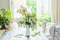 Flowers on a table at home - INGF09893