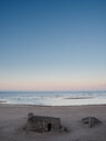 Scenic nature view of the sea under a clear blue sky during sunset - INGF10338