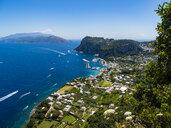 Italy, Campania, Gulf of Naples, View to Capri - AMF06419