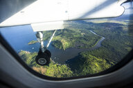 Philippines, Palawan, Coron, Aerial view from airplane - DAWF00761