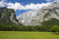 Germany, Bavaria, Upper Bavaria, Berchtesgaden Alps, Berchtesgaden National Park, Mount Watzmann - RUNF00404