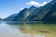 Germany, Bavaria, Upper Bavaria, Berchtesgaden Alps, Berchtesgaden National Park, Lake Koenigssee - RUNF00407