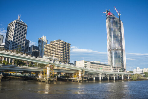 Australia, Queensland, The Central business district of Brisbane - RUNF00418