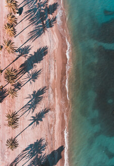 Aerial view of a beautiful deserted beach - INGF10532