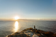 Scenic nature view of the sea during sunset - INGF11199