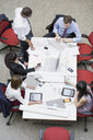 Business people meeting at conference table - HEROF01878