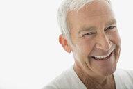Close up portrait of smiling senior man - HEROF02031