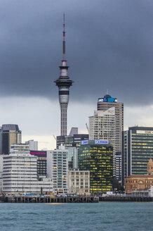 New Zealand, Auckland, Skyline and Sky Tower - RUNF00462