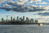 Australia, New South Wales, Sydney, Central Business district in the evening light - RUNF00519