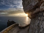 Portugal, Centro Region, Nazare, View from Nazare Lighthouse - LAF02218