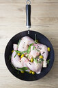 Raw chicken in pan - GIOF05281