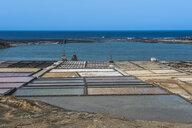 Spain, Canary Islands, Lanzarote, Salinas de Janubio - RUNF00587