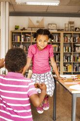 Children in classroom during break - ASTF00053