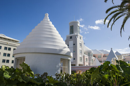 Bermuda, Hamilton, traditional roof - RUNF00660