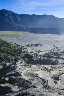 Indonesia, Java, Bromo Tengger Semeru National Park, Mount Bromo crater - RUNF00693