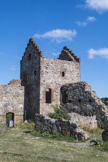 Denmark, Bornholm, Hammershus Castle ruins - RUNF00711