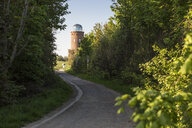 Germany, Ruegen, Cape Arkona, way to Positioning Tower, Peilturm - MAMF00255