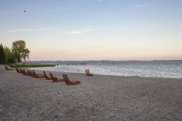 Strand in Dranske, Rügen, Ostseeinsel Rügen, Ostsee, Mecklenburg-Vorpommern, Deutschland - MAMF00270