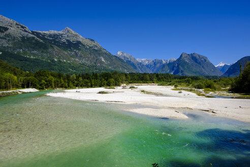 Slovenia, Soca Valley, near Bovec, Soca river - LBF02324