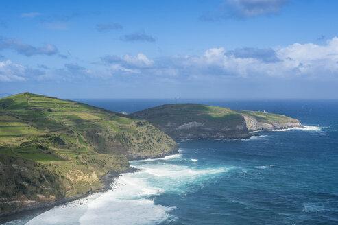 Portugal, Azores, Sao Miguel, View of North Coast - RUNF00808