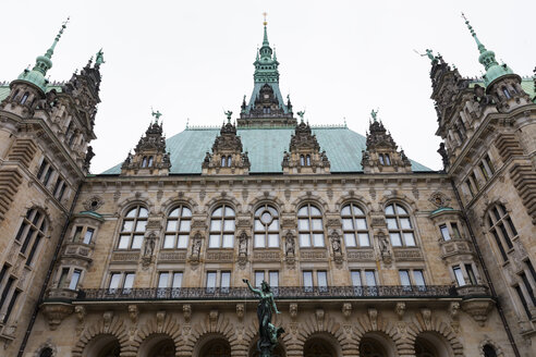 Germany, Hamburg, Hamburg City Hall - WIF03716