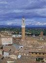 Italy, Tuscany, Siena, Palazzo Pubblico, Torre del Mangia - WWF04721