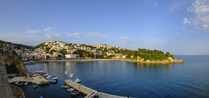 Montenegro, Ulcinj, Adriatic coast, harbor and beach Mala Plaza - SIEF08286