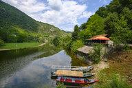 Montenegro, Rijeka Crnojevica, restaurant at river Crnojevic - SIEF08301