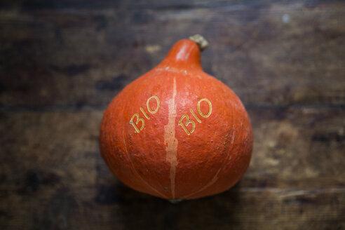 Organic Hokkaido pumpkin with Smart Branding - MAMF00288