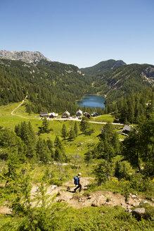 Austria, Styria, Tauplitz, Totes Gebirge, Lake Steirersee - WW04779