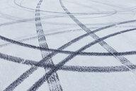 Detail of tire tracks on Salt Flats - MINF10026